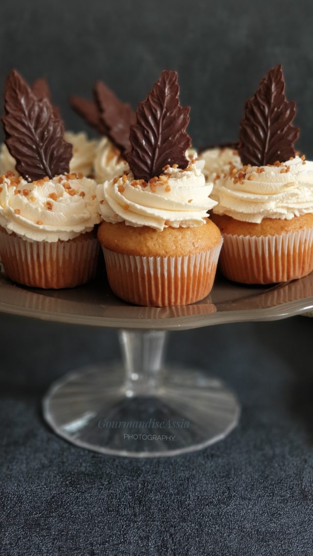 Cupcakes aux Noisettes et Chocolat