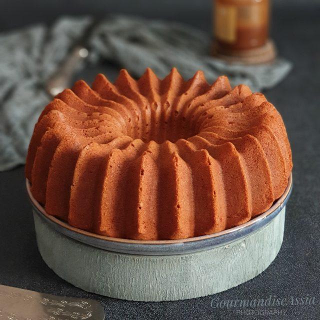 Bundt Cake Miel Noisette aux Blancs d'Oeufs