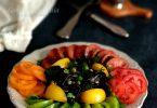 Salade de Tomates et Tagliattelles