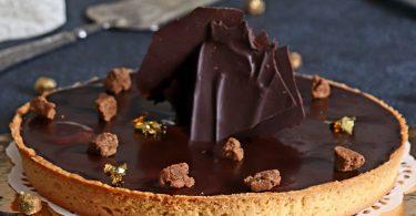 Tarte au Chocolat Caramel et Bananede François Perret