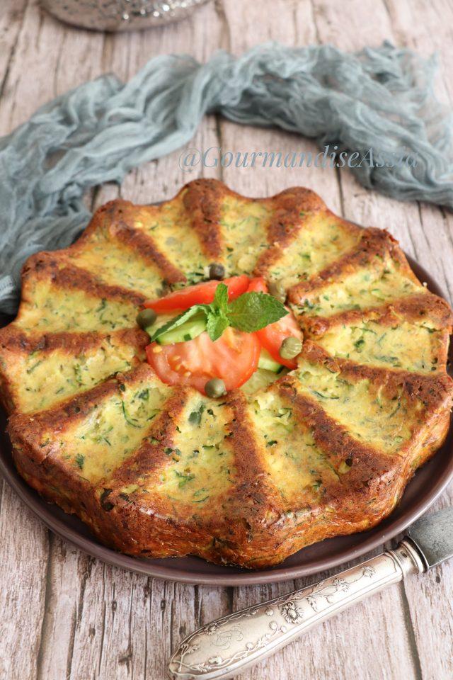 Gâteau de Courgette et fromage