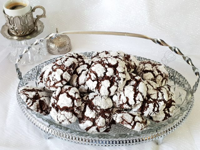 Crinkles Craquelés au Chocolat