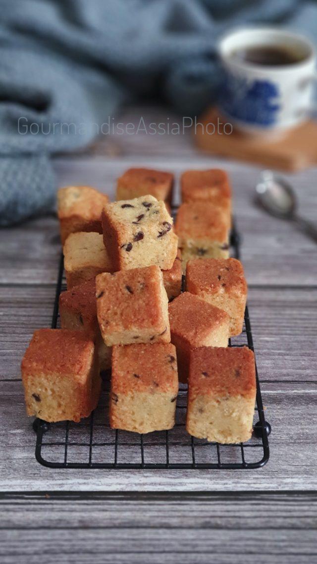 Cookies Cubes et Classique hyper Gourmands