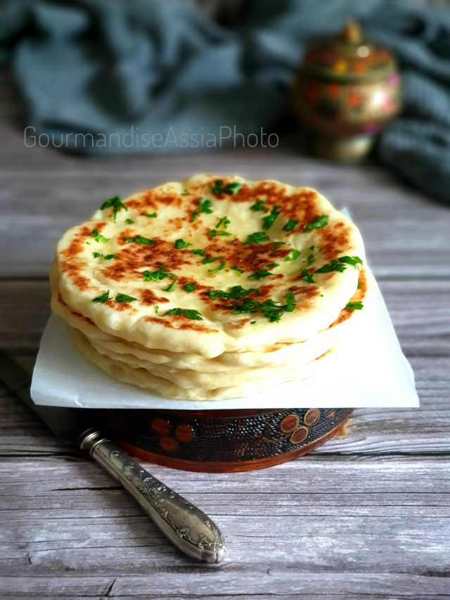 Cheese Naan ou Naan Indien au Fromage