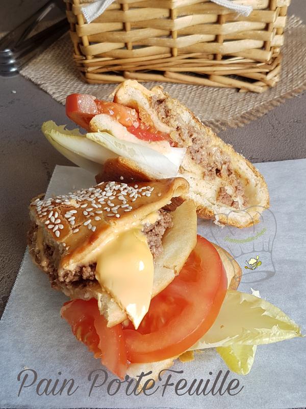 Sandwichs Porte Feuille à La Viande Hachée