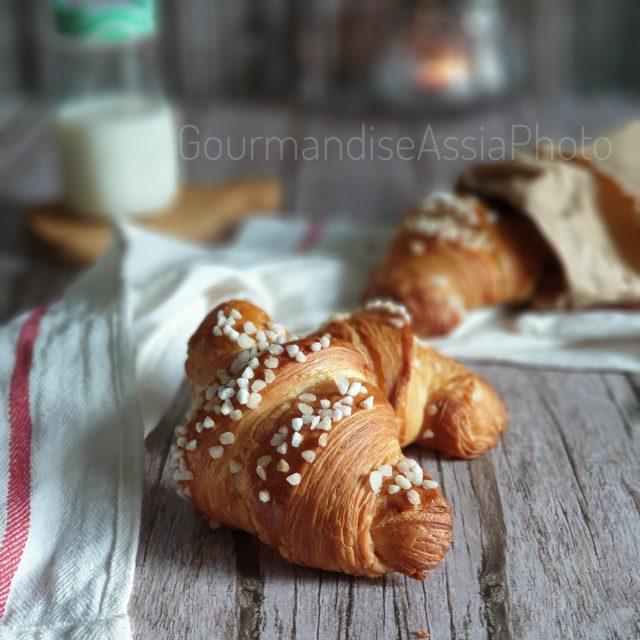 Croissants Pur Beurre au Sucre Cassant