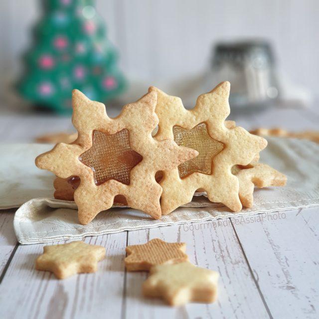 Biscuits Flocons de Neige Miroir