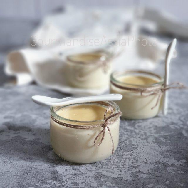 Crème Dessert au Citron et Verveine
