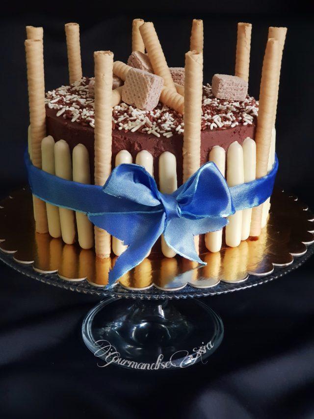 Gâteau d'Anniversaire { Génoise Inratable}
