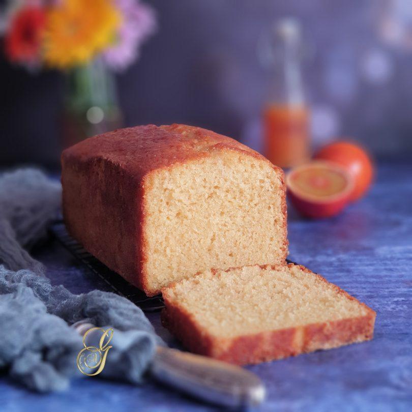 Cake Moelleux à l'Orange Sanguine