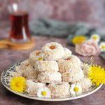 Biscuits Puits Coco Amande et Confiture