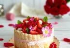 Charlotte aux Fruits Rouges et Chocolat Blanc