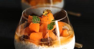 Pudding au Speculoos et Abricot