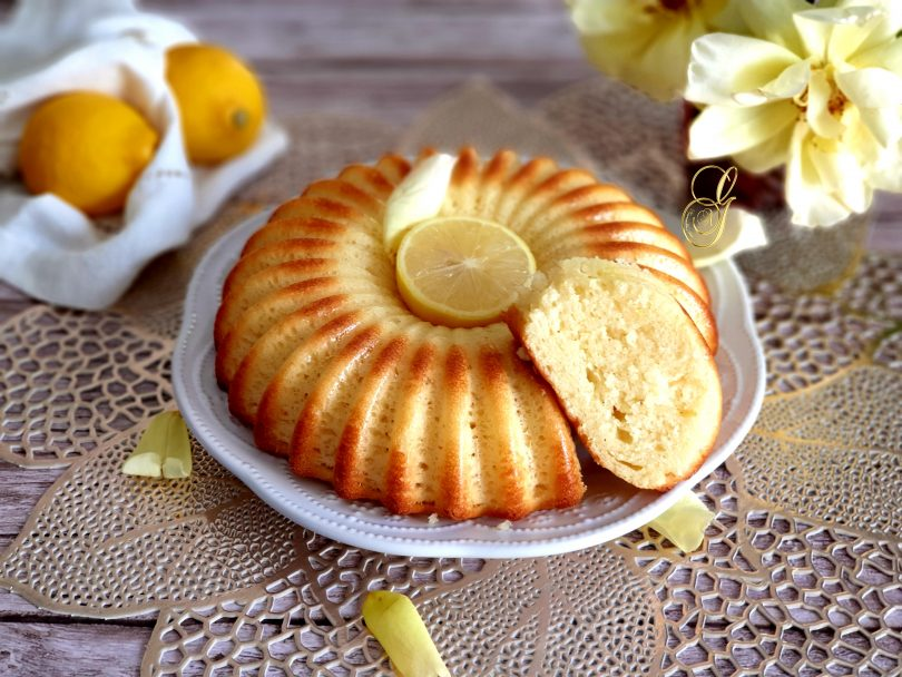 Cake Moelleux au Elben et Citron