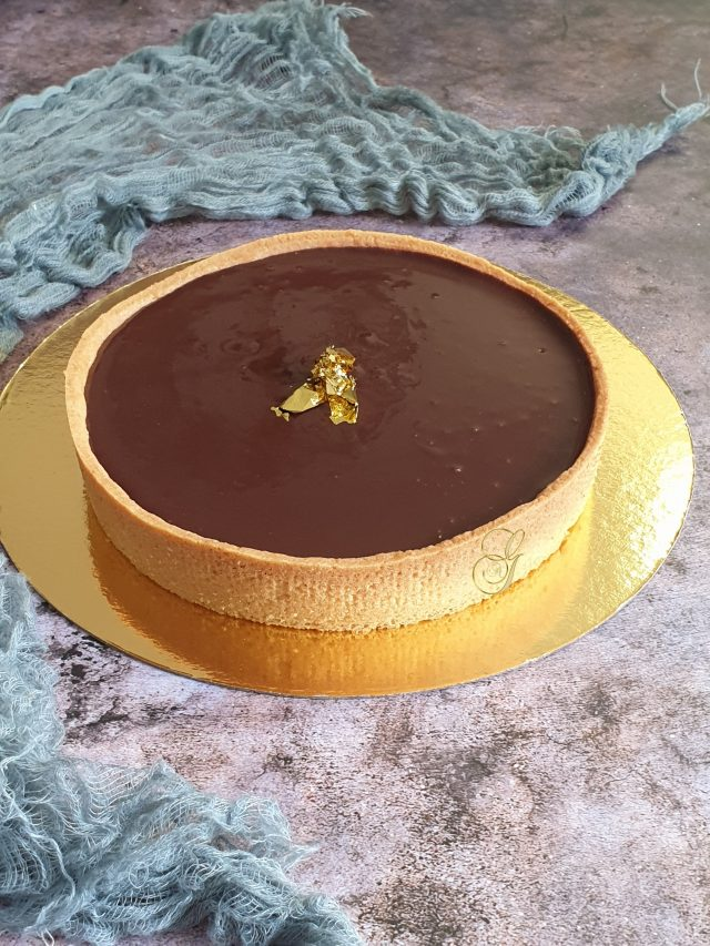Tarte Émeraude { Tarte Chocolat Raisins }